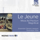 Album artwork for Le Jeune: Missa ad Placitum. Ensemble Clement Jane