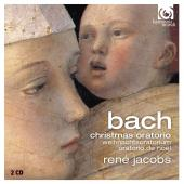 Album artwork for BACH. Christmas Oratorio. RIAS Kammerchor/Jacobs
