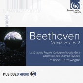 Album artwork for Beethoven: Symphony No.9 Champs-Elysees/Herreweghe