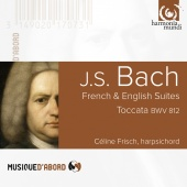 Album artwork for BACH. French & English Suites, Toccata. Frisch