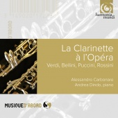 Album artwork for La Clarinette a l'Opera. Carbonare, Dindo, Quatuo