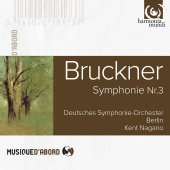Album artwork for BRUCKNER. Symphony No.3. Deutsches SO/Nagano