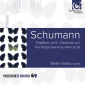 Album artwork for SCHUMANN. Papillons Op.19, Carnaval Op.2. Vladar