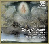 Album artwork for Schutz: Opus Ultimum / Herreweghe