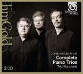 Album artwork for Brahms: Piano Trios / Trio Wanderer