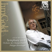 Album artwork for BRUCKNER: SYMPHONY NO. 4 / Herreweghe