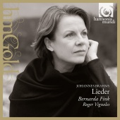 Album artwork for Brahms: Lieder / Fink