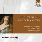Album artwork for Lamentazioni. Kiehr, Concerto Soave, Aymes
