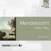 Album artwork for MENDELSSOHN. Piano Trios Nos.1 & 2. Trio Wanderer