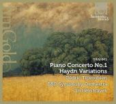 Album artwork for Brahms: Piano Concerto #1 / Tiberghien
