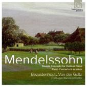 Album artwork for Mendelssohn: Concertos for Piano & Violin