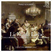 Album artwork for Schubert: Licht und Liebe - Lieder & Vocal Quartet