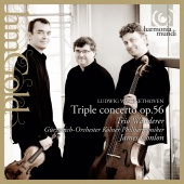 Album artwork for BEETHOVEN. Triple Concerto, Egmont. Trio Wanderer/