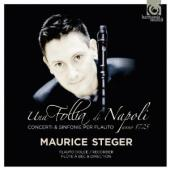 Album artwork for Maurice Steger: Una Follia di Napoli