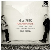 Album artwork for Bartok: Violin Concertos Nos.1 & 2 / Faust