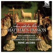 Album artwork for Bach: St. Matthew Passion / Jacobs