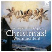 Album artwork for Christmas! Noel! Weihnachten!. RIAS Kammerchor/Rad