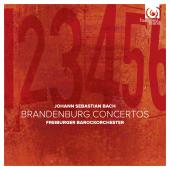 Album artwork for BACH. Brandenburg Concertos. Freiburger Barockorch