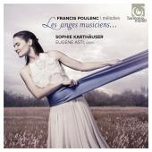 Album artwork for Les Anges Musiciens - Poulenc Melodies / Karthause