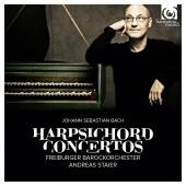 Album artwork for J.S. Bach: Harpsichord Concertos / Staier