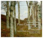 Album artwork for Brahms: Piano Concerto No. 1 (Paul Lewis)