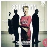 Album artwork for SCHUMANN. Trilogy Vol.1. Freiburger/Heras-Casado