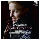 Album artwork for Mozart: Violin Concertos / Isabelle Faust