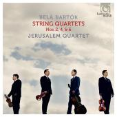 Album artwork for Bartok: String Quartets 2, 4, & 6 / Jerusalem Quar