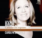 Album artwork for Bach: Cantatas for Soprano / Sampson