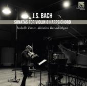 Album artwork for Bach: Sonatas for Violin & Harpsichord / Faust