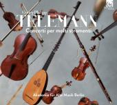 Album artwork for Telemann: Concerti per Molti Stromenti