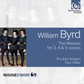 Album artwork for BYRD. Masses for 3, 4 & 5 voices. Pro Arte Singers