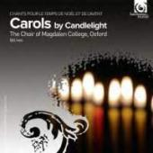 Album artwork for Carols by Candlelight. Choir of Magdalen College/I