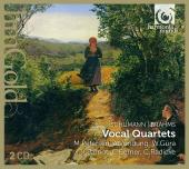 Album artwork for Schumann & Brahms: Vocal Quartets