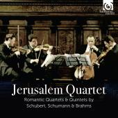 Album artwork for Jerusalem Quartet - Schubert, Schumann and Brahms