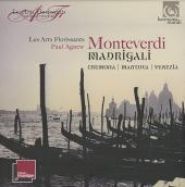 Album artwork for Monteverdi: Madrigals vol. 1, 2, 3 / Agnew