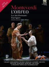 Album artwork for Monteverdi: L'Orfeo / Les Arts Florissants, Agnew