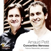 Album artwork for Petit: Concertino Nervoso. Duo Akrostick/Klein