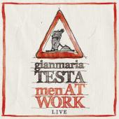 Album artwork for Men at Work - Live. Gianmaria Testa (Bonus DVD)