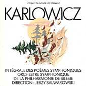 Album artwork for Karlowicz: Complete Symphonic Poems