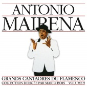 Album artwork for Masters of Flamenco Vol.9. Antonio Mairena