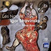Album artwork for Stravinsky: Les Noces