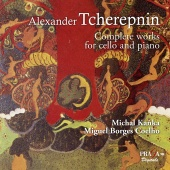 Album artwork for Tcherepnin: Complete Works for Cello and Piano