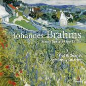 Album artwork for Brahms: String Sextets. Prazak
