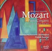 Album artwork for MOZART. Piano Concertos Nos.11, 12 & 13. Prazak Qu