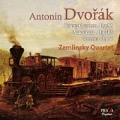 Album artwork for DVORAK. String Quartets Nos.12 & 14. Zemlinsky Qua