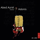 Album artwork for Abed Azrie chante Adonis. Abed Azrie (Bonus DVD)