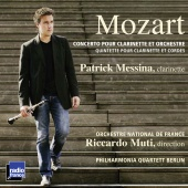 Album artwork for MOZART. Clarinet Concerto. Messina/ONF/Muti
