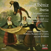 Album artwork for ALBENIZ. Iberia. de Larrocha, Rosenthal (SACD)
