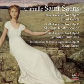 Album artwork for SAINT-SAENS: Concertos. Gilels, Rostropovich, Ster
